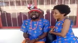 Sister Maggi and Husband Chief Imo During Rehearsal About The Wedding - Chief Imo Comedy