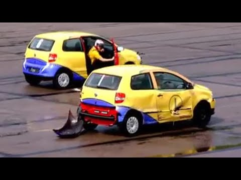 Car Football! VW Fox takes on the Aygo - Top Gear - BBC autos