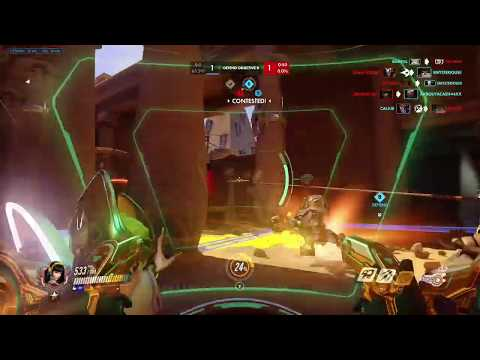 Xbox one x Overwatch first game after 1 yaer break xim apex keyboard and mouse