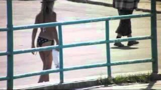 Девушка на речном в Барнауле.flv