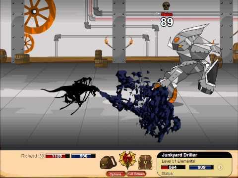 Dragon Fable Doom Knight Class