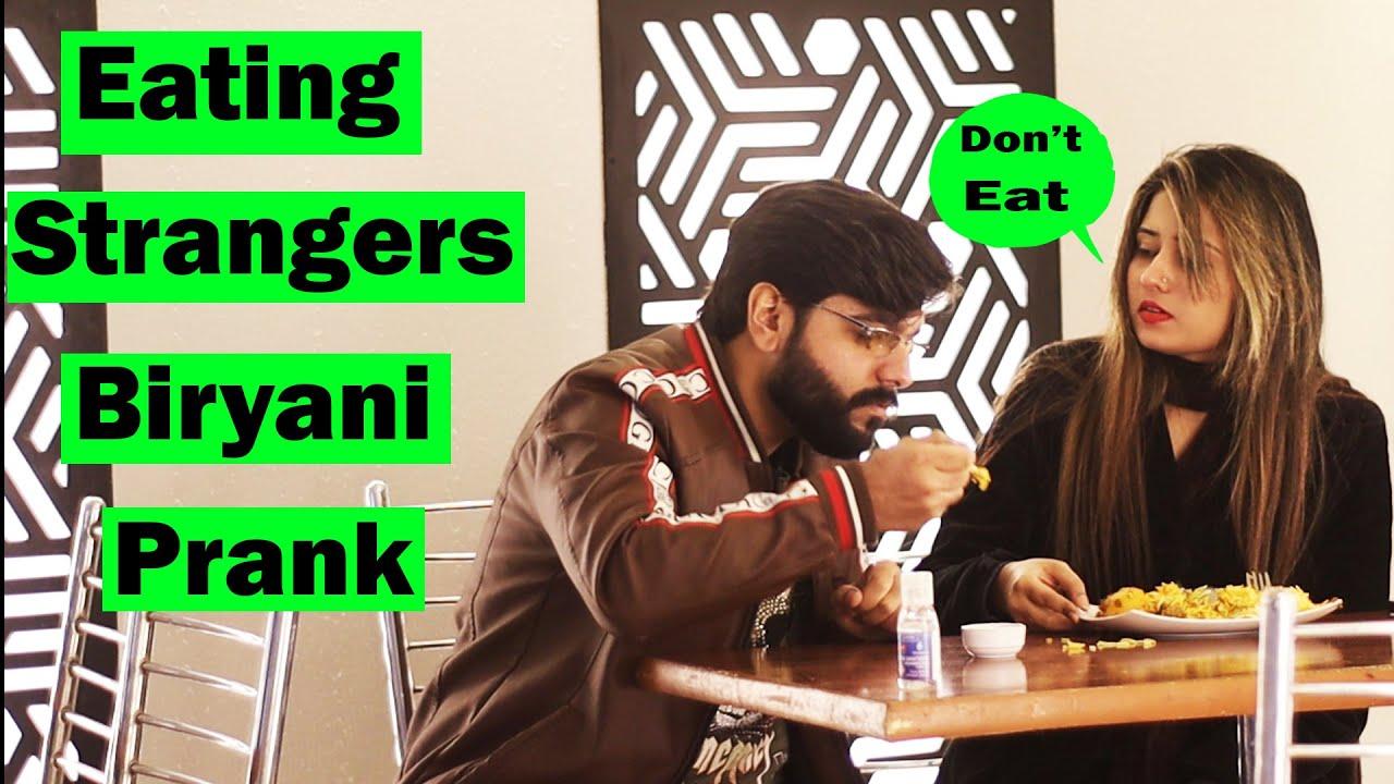 Eating Strangers Biryani Prank | Pranks In Pakistan | Humanitarians