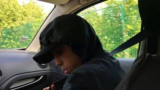Blague avec la voiture