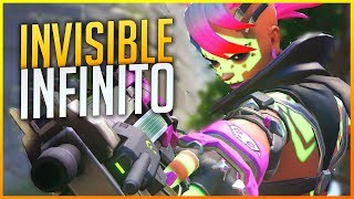 OVERWATCH: SOMBRA CON INVISIBLE INFINITO ¿BUFFO O NERF? | Makina
