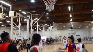 Chuck Hayes Basketball 14u EBC NorCal Tournament Champions Feb 2017