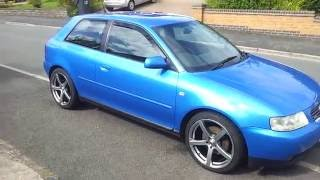 2001 audi a3 1 8t quattro 8l facelift 180bhp viewing