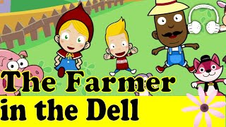 The Farmer in the Dell   Family Sing Along - Muffin Songs