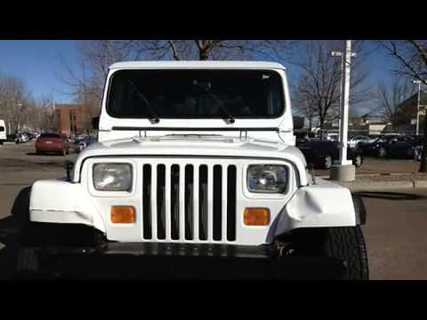 1993 jeep wrangler ed carroll motor company fort for Ed carroll motor company