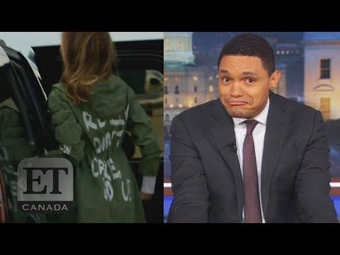 Reaction To Melania Trump's 'Don't Really Care' Jacket
