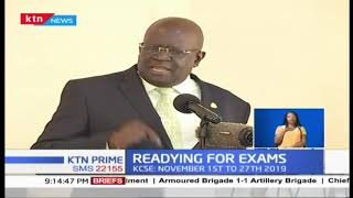 Magoha warns cheating cartels