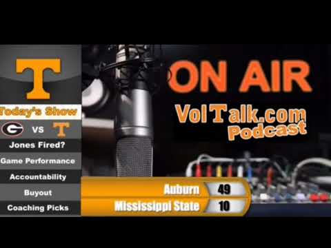 Uncle Lou Calls Tennessee Vols Radio Show