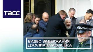 Видео задержания Джулиана Ассанжа