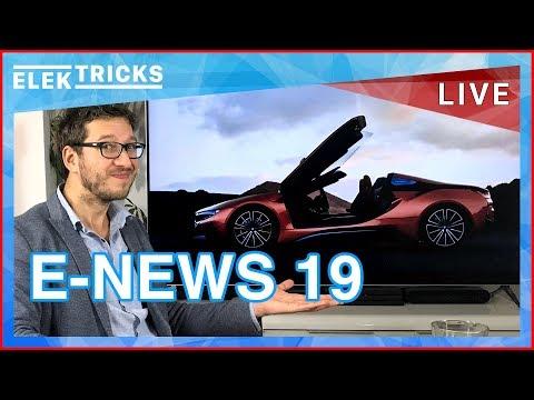 E-News #19 Diesel Gipfel 2, BMW i8 Roadster & Coupé, Mercedes EQC Bilder, DHL bestellt Tesla Trucks