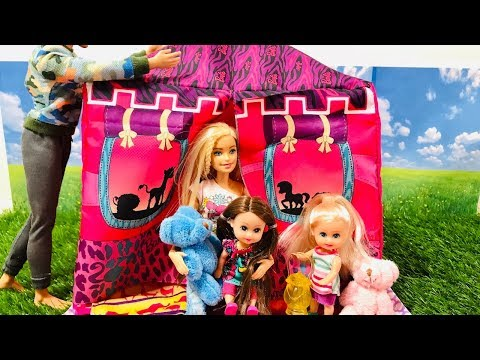 Barbie Campout for Haley and Ally!!