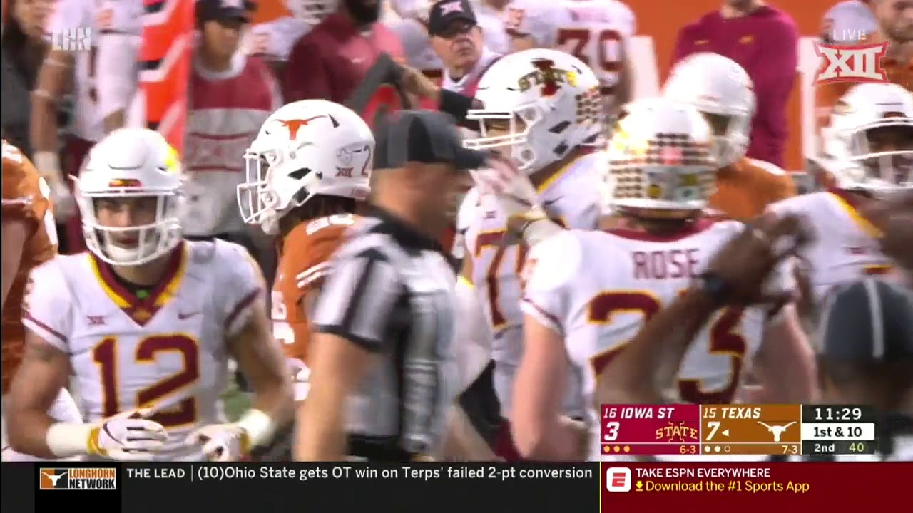 Texas vs Iowa State: Game recap