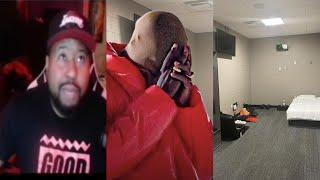 """DJ Akademiks speaks on Kanye West renting the Mercedes Benz Stadium to Finish off """"DONDA"""" Album!"""