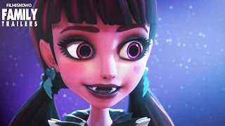 MONSTER HIGH: Welcome to Monster High | Official Trailer [HD]