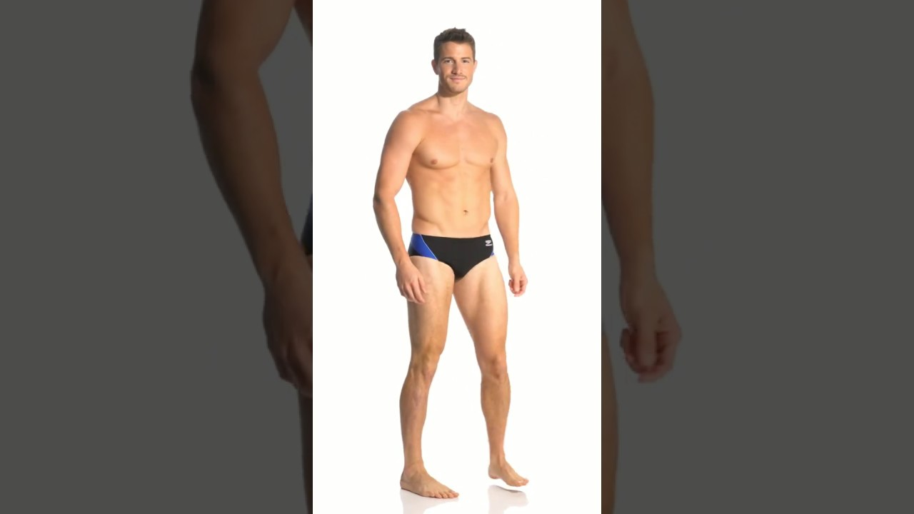13cc093bc4 Speedo Launch Splice Endurance + Brief Swimsuit | SwimOutlet.com ...