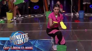Flip Floppin' | Minute To Win It - Last Tandem Standing