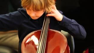A. Dvorak : Humoresque for cello and piano - Leonard Razboršek (8 years old)