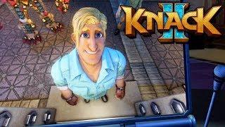 Knack 2 Gameplay German PS4 PRO - Wiedersehen mit der Ex Freundin