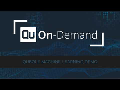 Qubole On-Demand - Machine Learning Demo