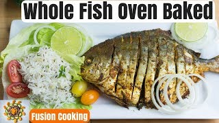 Thanksgiving Whole Fish Recipe | Whole Fish Oven Baked