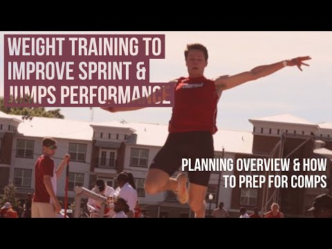 How to Weight train to Improve Jumps & Sprints