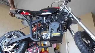 UNBOXING! Brand New High Performance 4 Stroke 40cc Black Mini Dirt Bike
