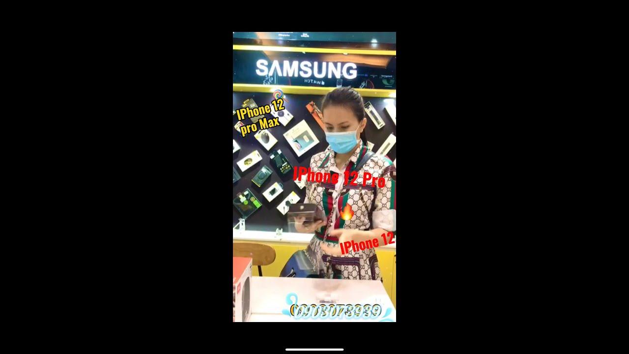 Nghiện bán điện thoại, khách ghé shop mua và unbox iphone 12, iphone 12 pro và iphone 12 pro max
