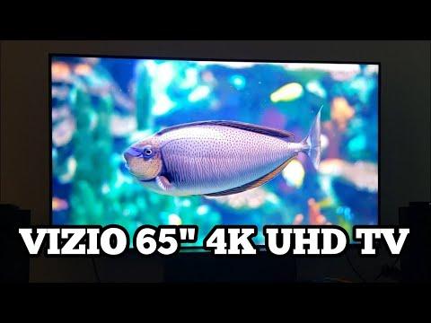 "Vizio 65"" 4K UHD TV | M658-G1 Unboxing / Picture Quality"