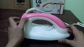 Unboxing of fake LG iron