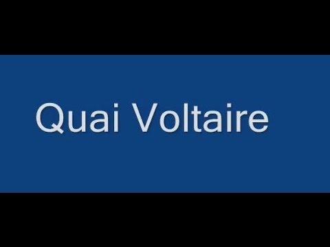 Quai Voltaire Paris Arrondissement  7e