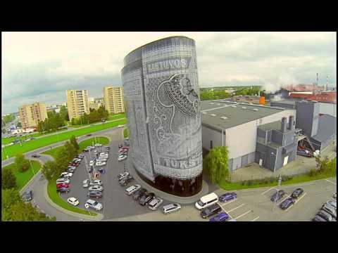 1000lt Building | Kaunas, Lithuania Aerial