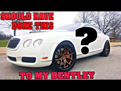 WHY DID I GET RID OF MY BENTLEY COUPE?