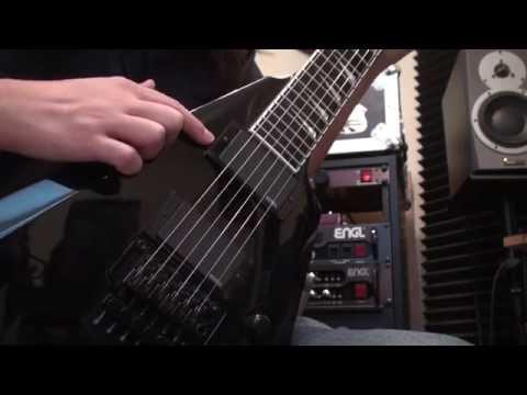 ESP Guitars E-II Arrow EMG 81 Demo