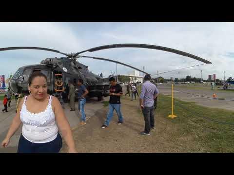 Video 360°: Ejército de Nicaragua exhibe armas en Managua