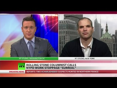 NYPD work stoppage is political stunt – Matt Taibbi