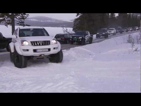 Arctic Trucks Vintertreff 2013 Gålå Kortesje