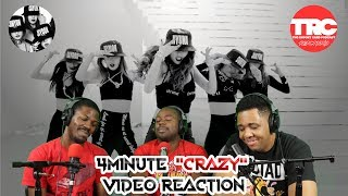"""4Minute """"Crazy"""" Music Video Reaction"""