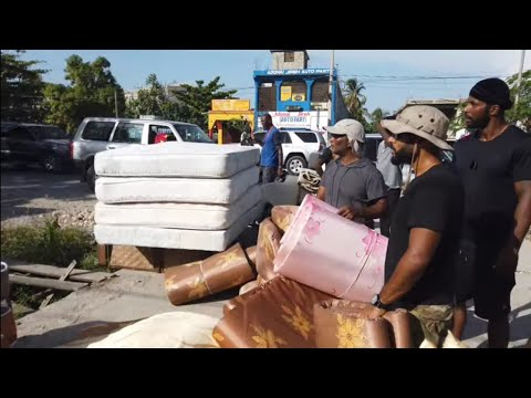 No Beds, No Water, No Electric, No Food - INSIDE DUCHITY HAITI TENT CITY || REAL STREETS