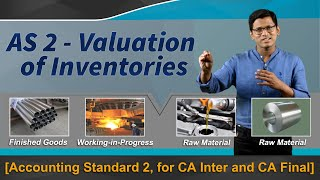 AS 2 - Valuation of Inventories [Accounting Standard for CA Inter and CA Final] by CA Sathya Raghu
