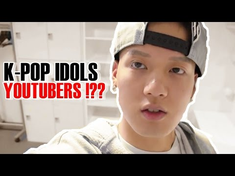 KPOP-TOP  IDOLS HAVE PERSONAL YOUTUBE CHANNEL YOUTUBERS !!