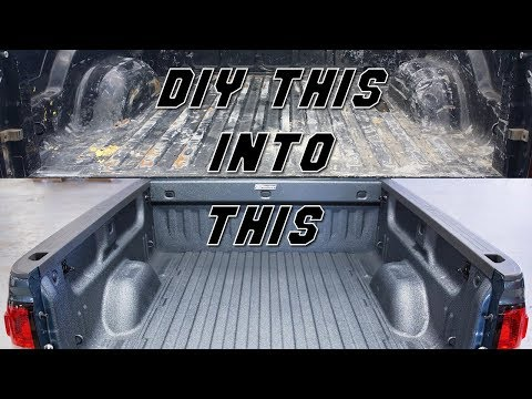 How To DIY Spray In Bed Liner + Equipment & Tools List