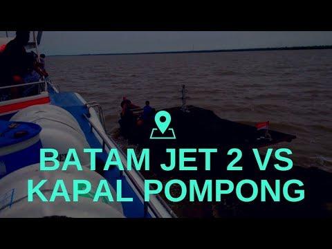 Batam Jet 2 VS Kapal Pompong