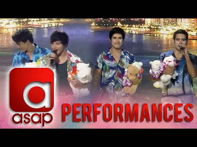 ASAP: The Kapamilya heartthrobs serenade the crowd on Hawaii!