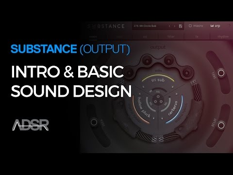 Working with Substance 01 - Intro & Basic Sound Design