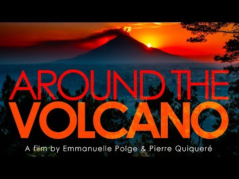 Around the volcano (sinabung's eruption)