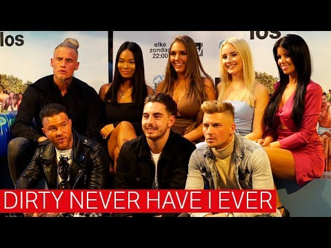 Dirty never have I ever met 'Ex on the Beach: Double Dutch'-kandidaten