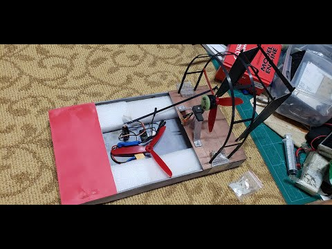 RC Airboat body made from PVC tube and glued by Epoxy .